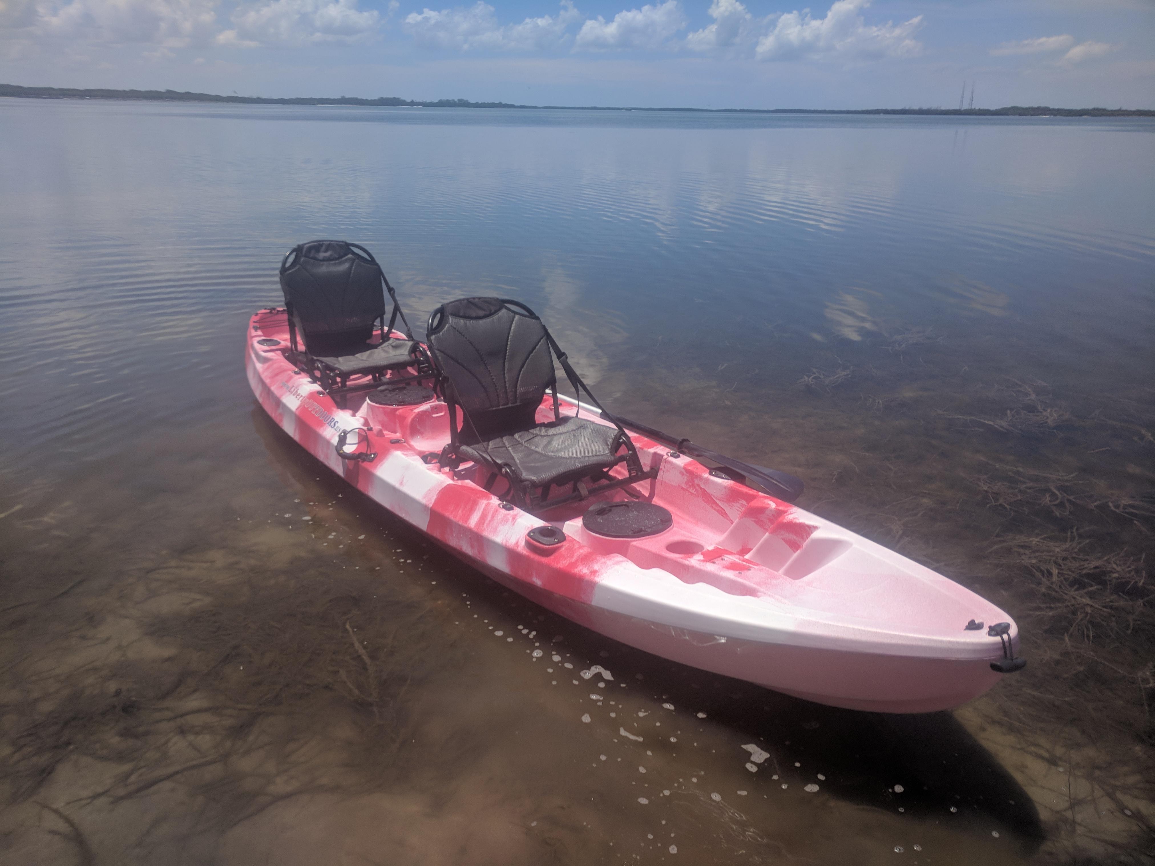 Pursuit of Happiness 2 5 Tandem Fishing Kayak - Liberty
